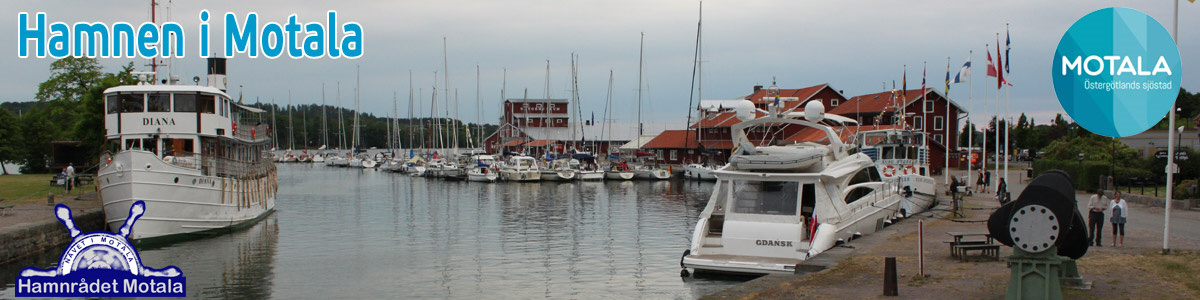 Motalas Gästhamn - Göta kanal
